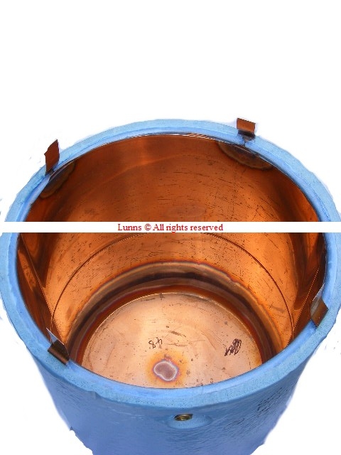 Copper Feed & Expansion Tank 100L 670x600mm